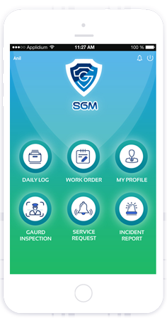 security guard mobile app by toyaja